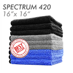 Spectrum dual-pile microfiber towel