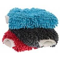 Microvezel noodle wash mitt blauw