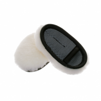 Autochem long wool lambskin finger wash mitt