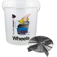 Scratchshield bucket + filter + lid black