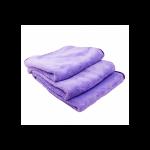 Minx royal coral fleece microfiber towel